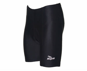 Padded Cycling Short Men Black Tight Fit Dry Wicking Polyester Rogelli