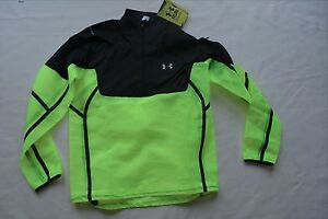 New $300 Under Armour Temperature Neutral 12 Zip Running Jacket Shirt Mens Med