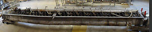 Denver Sala Holo-Flite Steam Jacketed Screw Cooler MDL Stainless Steel -Used