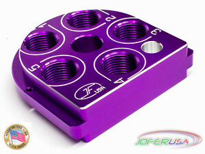 Dillon Precision XL650 Style tool head Billet Aluminum CNC Made Tool headVIOLET