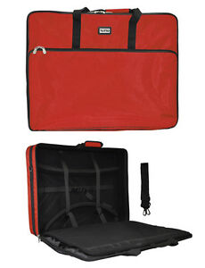Red Tutto Embroidery Project Extra Large Bag $188.96