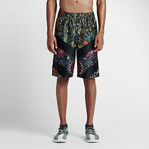 NIKELAB x RICCARDO TISCI Men Floral Dri-Fit Training Shorts 840793-010 Nike RT