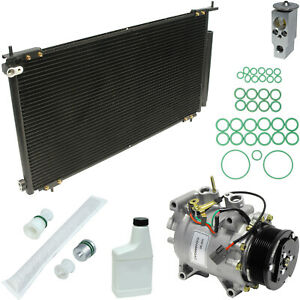 New AC Compressor Kit w Condenser KT 1031A -  2002-2006 Honda CR-V 2.4L
