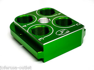 Dillon Precision RL550B Style tool head Billet Aluminum CNC Made Toolhead GREEN