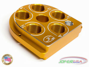 Dillon Precision XL650 Style Billet Aluminum tool head CNC Made Toolhead YELLOW