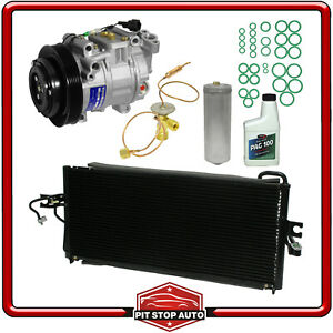 New AC Compressor Kit w Condenser KT 1717A -  For Sentra 200SX