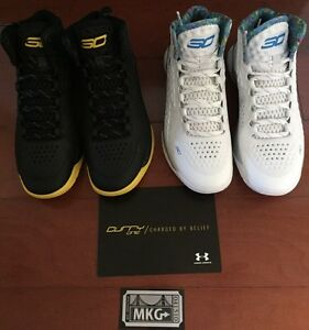 Under Armour Curry One 1 MVP Championship Pack 1287487-100 mens 8 RARE