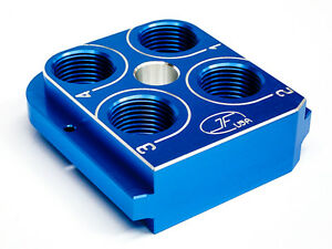 Dillon Precision RL550B  Style Billet Tool head Aluminum CNC Made Toolhead BLUE