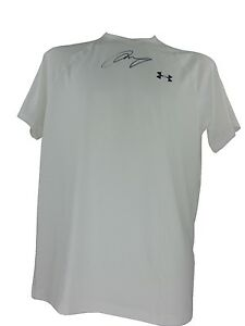 ANDY MURRAY SIGNED UNDER ARMOUR MENS TENNIS SHIRT TOP WIMBLEDON CHAMPION 2016