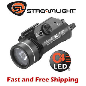 Streamlight TLR-1 HL 800 Lumens Rail Mounted Weapon Light LED Strobe Mode 69260