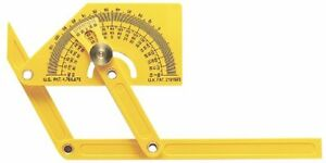 General Tools 29 Plastic Protractor and Angle Finder with Articulating Arms $11.78