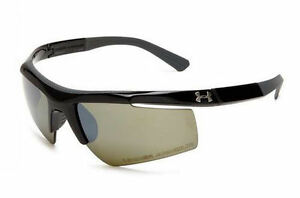 Under Armour Core Sport Sunglasses. Shiny Black - Game Day Lens. 8600035-5131
