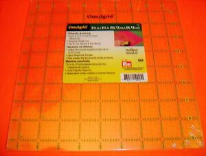 Omnigrid 9 1 2 inch x 9 1 2 inch Square Ruler for Quilting $26.50