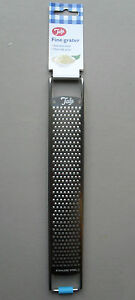 Fine Small Grater, Cheese, Nutmeg etc, Stainless Steel, Non Slip Grips, By Tala