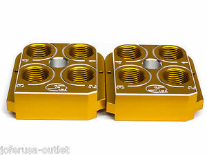 (2) Dillon Precision RL550B Style tool head Billet Aluminum CNC Made Toolhead