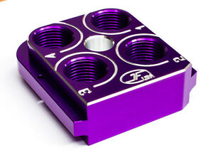 Dillon Precision RL550B Style tool head Billet Aluminum CNC Made ToolheadVIOLET