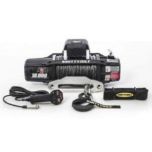 Smittybilt 98510 Gen2 X20 Wireless Winch 10k Comp Series Black