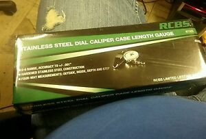 RCBSStainless Steel Dial Caliper Reloading Measuring Tools & Accessories 87305