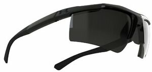 Under Armour Core Satin Black Frame with Black Rubber and Gray Lens