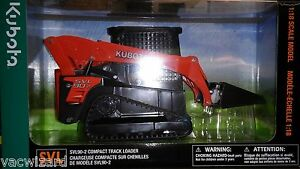Kubota SVL90-2 Compact Track Loader 1:18 Scale Model TOY 77700-03891