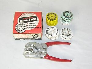 Vintage South Bend Fishing Shot Master Redi-Shot Lead Weights Sinkers