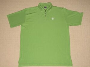Mens Under Armour UA Rivera Golf Club Short Sleeve SS Polo Shirt LG Large Green