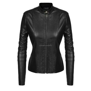 New winter girl leather coat women short paragraph Slim pu leather jacket