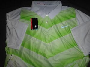 NIKE TIGER WOODS GOLF DRI-FIT POLO SHIRT  2XL MEN NWT $110.00