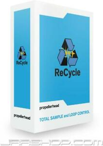 Propellerhead Reason Recycle 2.2 eDelivery JRR Shop $199.00