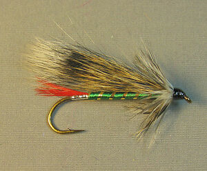 Grizzly King Streamer Trout Fly Sizes 4 6 and 8