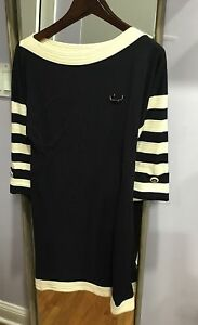 Auth Chanel A-line casual dress 36FR