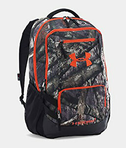 New Under Armour UA Camo Hustle Backpack One Size Fits All Mossy Oak Treestand
