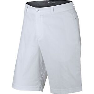 NEW Nike Tiger Woods TW Practice Short 2.0 White 28