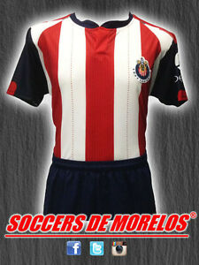 CHIVAS DRI-FIT SOCCER UNIFORMS (JERSEY SHORTS & SOCKS) PACKAGE WITH 10 SETS
