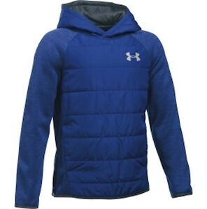 Under Armour UA Boys Water Resistant Storm Swacket Pullover Hoodie