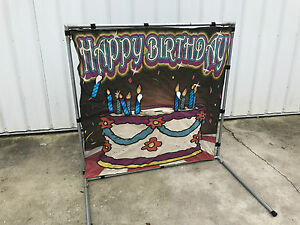 Happy Birthday Candle Carnival Game used