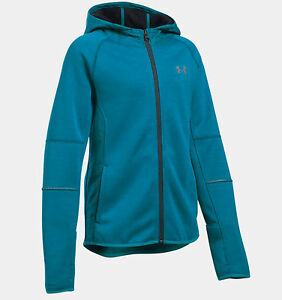 Under Armour UA Girls Water Resistant Swacket Full Zip Hoodie