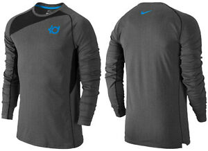 "Nike Kevin Durant ""KD Fearless"" Long Sleeve Dri-Fit Basketball Shirt Men's 3XL"