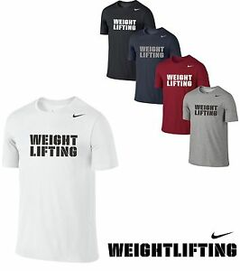 Nike DryFit GYM TEAM MENS T-SHIRT FITNESS TRAINING BODYBUILDING WEIGHTLIFTING