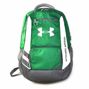 Under Armour Storm Hustle Backpack GreenGray wWhite