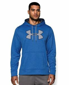 Under Armour Mens UA Storm Armour Fleece Big Logo Patterned Hoodie XX-Large