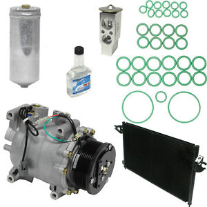 New AC Compressor Kit w Condenser KT 1954A -  RSX