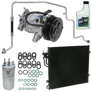 New AC Compressor Kit w Condenser KT 4174A -  Liberty
