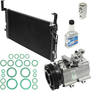 New AC Compressor Kit w Condenser KT 4793A -  For Santa Fe