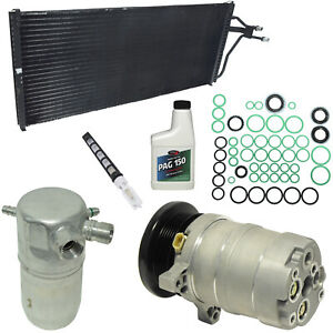 New AC Compressor Kit w Condenser KT 4794A -  DeVille Fleetwood