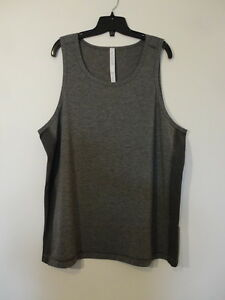 NWT LULULEMON HBLK Black T.H.E. Sleeveless Tank Top Shirt Men's Extra Large XL