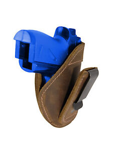 New Barsony Brown Leather Tuckable IWB Holster for Mini Pocket 22 25 380 Pistols $32.99