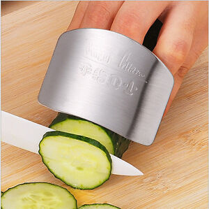 Stainless Steel Kitchen Safety Finger Guard Chopping Tool Finger futuristic Cosy $3.75