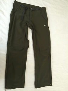 NIKE FIT DRY WOMENS BELTED PANTS SIZE M 8-10