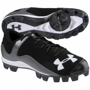 Under Armour Kids UA Leadoff Low RM Jr. Baseball Cleat- 6Y